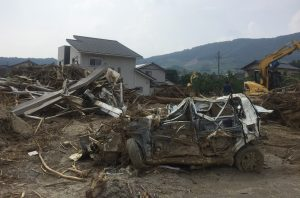 福岡県杷木町の被害